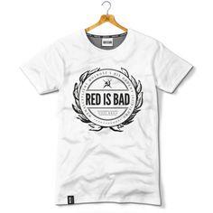 Herb Red is Bad - wer. biała