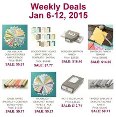 Great deals during Sale-A-Bration! Plus an awesome sale on the Big Shot here: http://www.lisastamps.com/2015/01/here-is-is-the-fantastic-big-shot-sale.html#