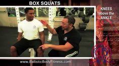 Box Squats for strong legs and a tight butt - BBF 90 Day Fitness Challenge video #29  Ballistic Body Fitness / Personal Trainer Burbank