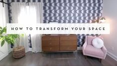 Transform your space with Tempaper self-adhesive, removable wallpaper. Watch how easy it is to apply and remove Tempaper. Ideal for DIYers, renters. Self Adhesive Wallpaper, Wall Wallpaper, Peel And Stick Wallpaper, Wallpaper Roll, Chalkboard Wallpaper, How To Install Wallpaper, Temporary Wallpaper, Burke Decor, Traditional Wallpaper