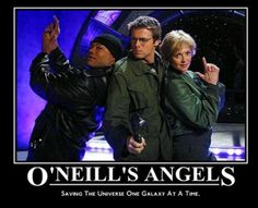 Christopher Judge, Michael Shanks & Amanda Tapping- because I don't have nearly enough Stargate on my geek board! Sci Fi Shows, Tv Shows, Stargate Universe, Marvel Universe, Michael Shanks, Daniel Jackson, Best Sci Fi, Stargate Atlantis, Motivational Posters