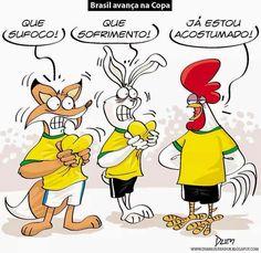 Brasil Avança na copa