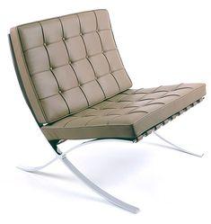 Mies van der Rohe Barcelona chair (1929) _
