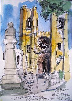 lisboa la catedral
