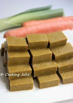 Il y a déjà sur le blog une recette de fond de légumes , que j'utilise principalement pour aromatiser les soupes. Depuis longtemps déjà, je ...