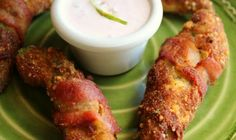 Bacon Wrapped Avocado Fries