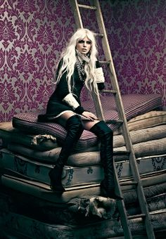 The Fashion Magazine December 2013 Photoshoot Stars Pamela Bernier