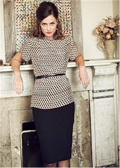 Skirts - Francine Pencil Skirt | People Tree- need this skirt, whole outfit really...