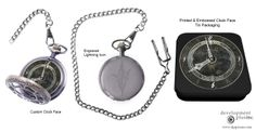 Final Fantasy, Pocket Watch, Product Launch, Packaging, Concept, Digital, Pocket Watches, Wrapping