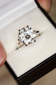 Learn how to clean all different types of jewelry at home without the use of harsh chemicals and expensive store bought jewelry cleaners.: How to Clean Diamond Jewelry