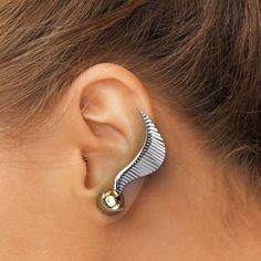 golden snitch ear climbers