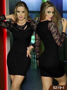 Colombian Dress Thaxx Fashion Ref. 107 -5219-1