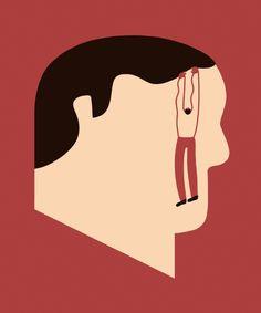 Magoz illustration - Mental illness and depression