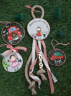 Lucky Charm, Diy Gifts, Christmas Crafts, Charmed, Amelie, Biscuit, Handmade, Decor, Ideas
