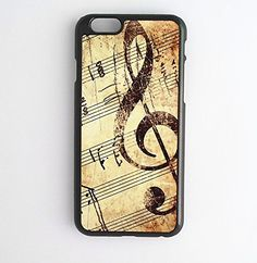 Music Clef Treble Note Quote New Design Pattern Back Case Cover Apple iPod 4 5 6