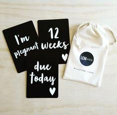 http://www.ruggabub.com.au/unique-gifts/heart-pregnancy-milestone-cards/ Heart pregnancy Milestone Cards - Ruggabub Boutique