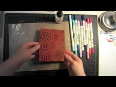 This tutorial takes you through two cards from start to finish using a fun technique with Distress Markers. Im calling this technique Gradient Coloring, and you can get a ton of look...