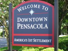 Pensacola, Fl. America's First Settlement.  Would have been Florida's oldest town until a hurricane destroyed it and it had to be rebuilt.  Thus St. Augustine took the title. History by Leylakiona Lowery