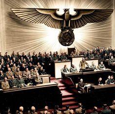 Hitler declares war