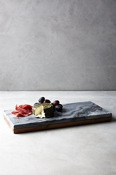 Reversible Cutting Board   Wooden & Marble