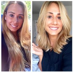 And this blonde bombshell, who got a fresh new 'do. | 18 Incredible Hair Makeovers That'll Make You Want To Get A Haircut