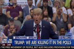 Trump Took the Stage, Then More Than 20,000 People Immediately Booed! (WATCH)  Read more: http://www.thepoliticalinsider.com/trump-took-the-stage-then-more-than-20000-people-immediately-booed-watch/#ixzz3lq73udSz