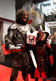 Sandor Clegane (Game of Thrones) - New York Comic Con 2014