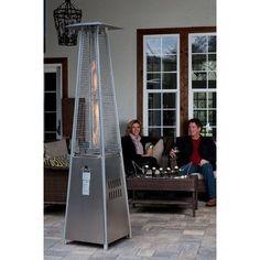 Fire Sense Pyramid Flame Propane Patio Heater $289.95