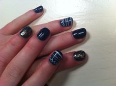 Dark blue Gelpolish
