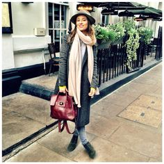 Soho Meetings: #JessCollett Fedora, #ASOS boots, #Mulberry #CaraDelevingne Bag  #OOTD #TLCStyle #TheLondonChatter #StreetStyle