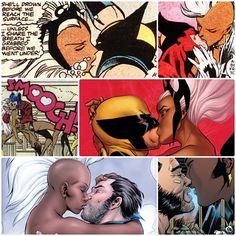 ♡ Storm and Wolverine... Ororo and Logan. ♡