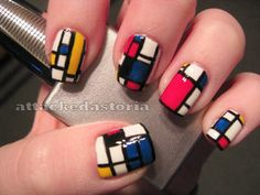 Frank Lloyd Wright is so cool. and so are these nails.