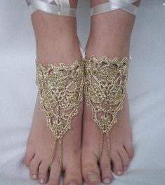 Stylish Easy Crochet: Crochet Barefoot Sandals - Crochet Accessories For Summer