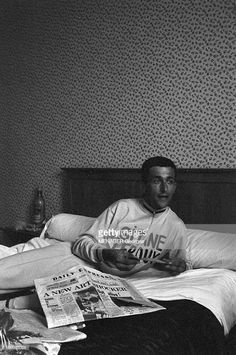 Tom at the Luchon Hotel in 1962 after his day in the Yellow Jersey on the Tour de France.