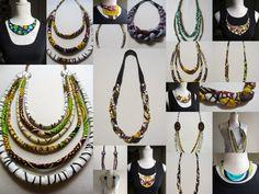 Montage by www.cewax.fr des bijoux colliers ethniques Céwax