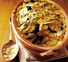 Courgette, Bacon & Brie Gratin Recipe on Yummly Bbc Good Food Recipes, Meat Recipes, Cooking Recipes, Frugal Recipes, Savoury Recipes, Recipies, Yummy Food, Risotto, Bacon
