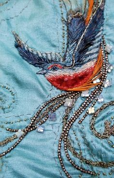 Costume Embroidery & Illustration by Michele Carragher (Game of Thrones.)