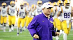 For Les Miles and LSU, football means a return to normalcy