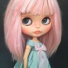 Willow 😀#alpaca #blythecustomizer #blythecustomdoll #blythedoll #blythecustom #blythe #dollstagram | by Belen de la Morena