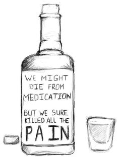 truth quote Black and White text depression sad drugs pain alcohol animation emo pills