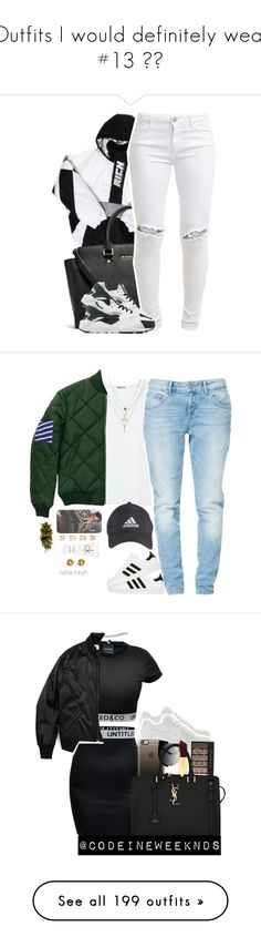 """Outfits I would definitely wear #13 😍😊"" by asilversmile ❤ liked on Polyvore featuring Off-White, Michael Kors, FiveUnits, NIKE, Zara, adidas, Kenneth Cole, Calvin Klein, Yves Saint Laurent and Fred Perry"