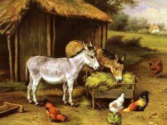 Çiftlik...Ressam;Carl JUTZ..Yob Titto'dan