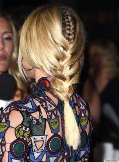 Diane Kruger's amazing braid