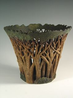 silver kiln pottery; stunning pottery perfect for my arts and crafts bungalow. Sculpture to me