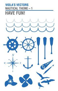 Free nautical vectors