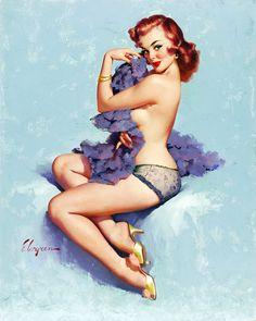 Roxanne by Gil Elvgren (1960)