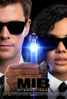 Sony Pictures has released the official theatrical trailer and international trailer for Men in Black: International, offering a look at Chris Hemsworth & Tessa Thompson taking on the scum of the universe! Men In Black, Rebecca Ferguson, Tessa Thompson, Liam Neeson, Latest Movies, New Movies, Good Movies, Movies 2019, Movies Free
