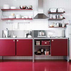 Materials: Ikea Faktum cabinet and Udden kitchenDescription: We ...   {Modulküche ikea udden 28}