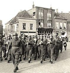 Polish Divisions in Breda Oct 1944.