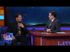 Neil deGrasse Tyson Explains the Strawberry Moon to Stephen Colbert on The Late Show